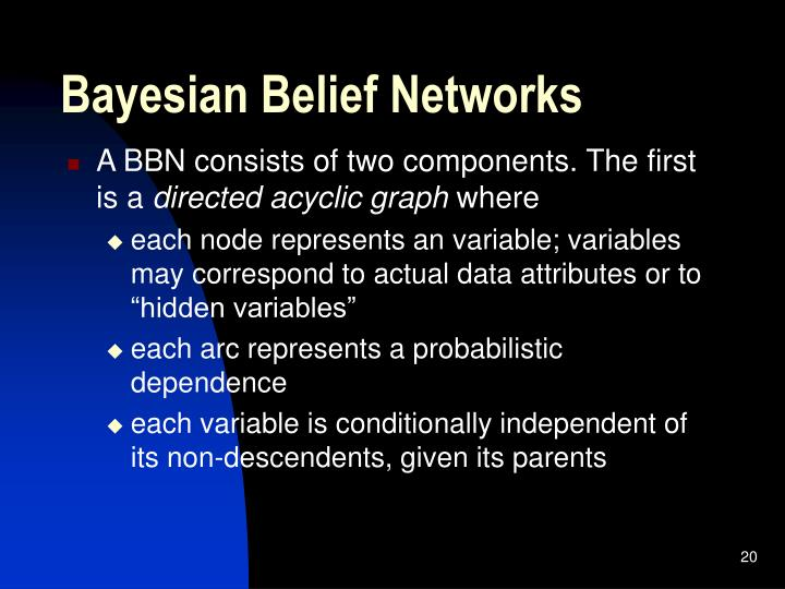 Bayesian Belief Networks