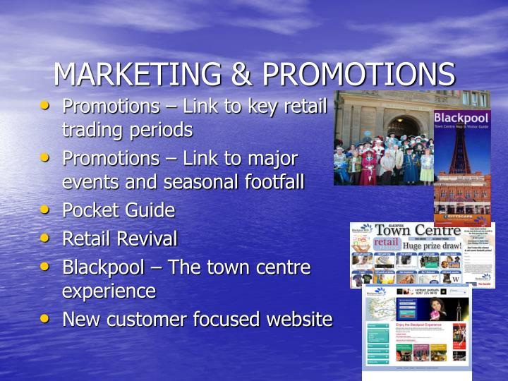 MARKETING & PROMOTIONS