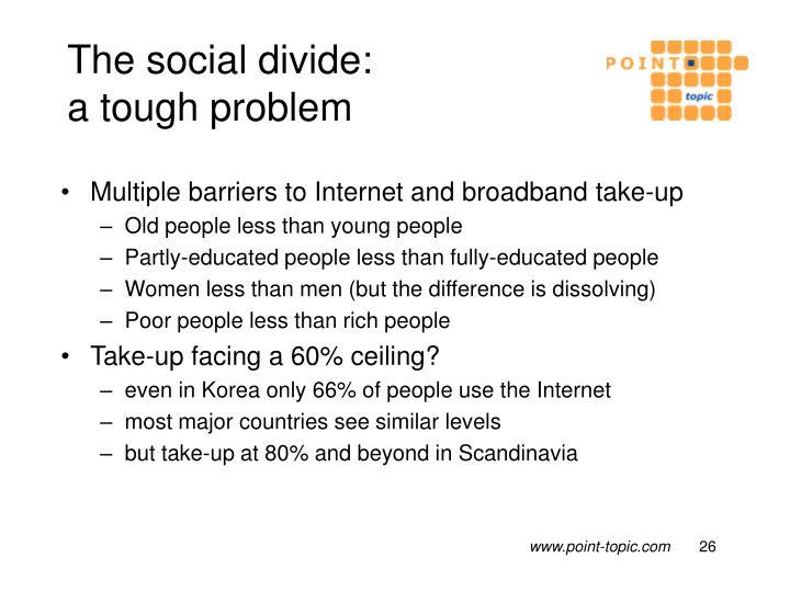 The social divide: