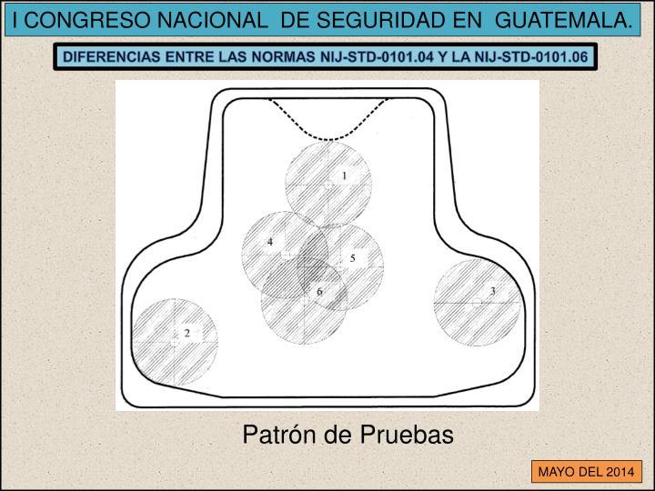 I CONGRESO NACIONAL  DE SEGURIDAD EN  GUATEMALA.