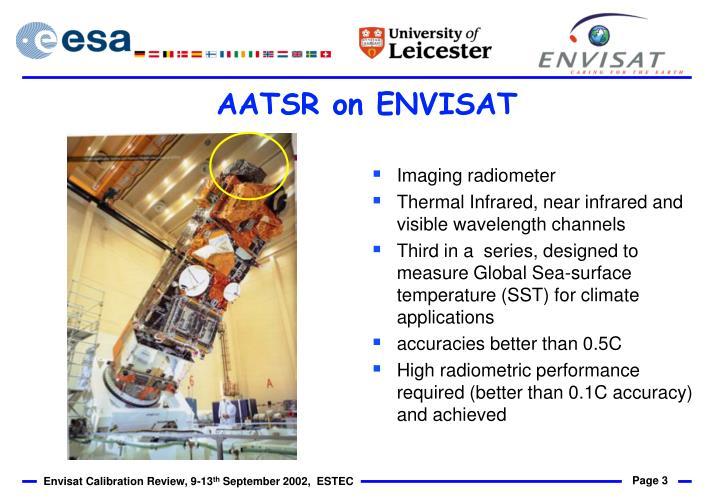 AATSR on ENVISAT