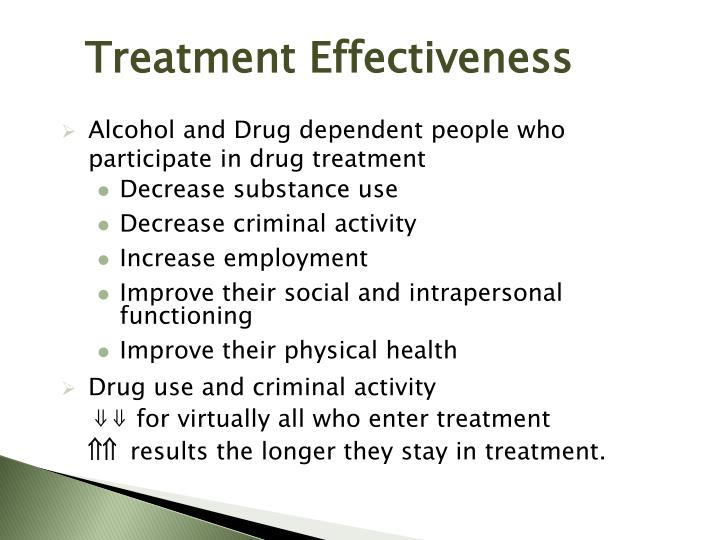 Treatment Effectiveness