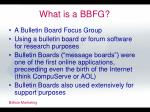 what is a bbfg