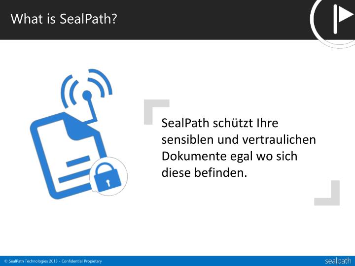 What is SealPath?