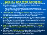 web 2 0 and web services i