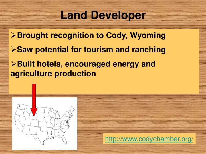 Land Developer