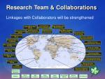 research team collaborations