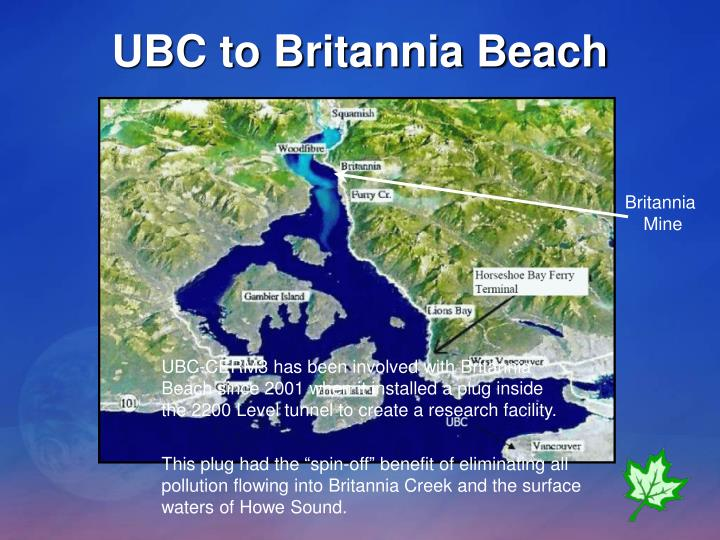 UBC to Britannia Beach