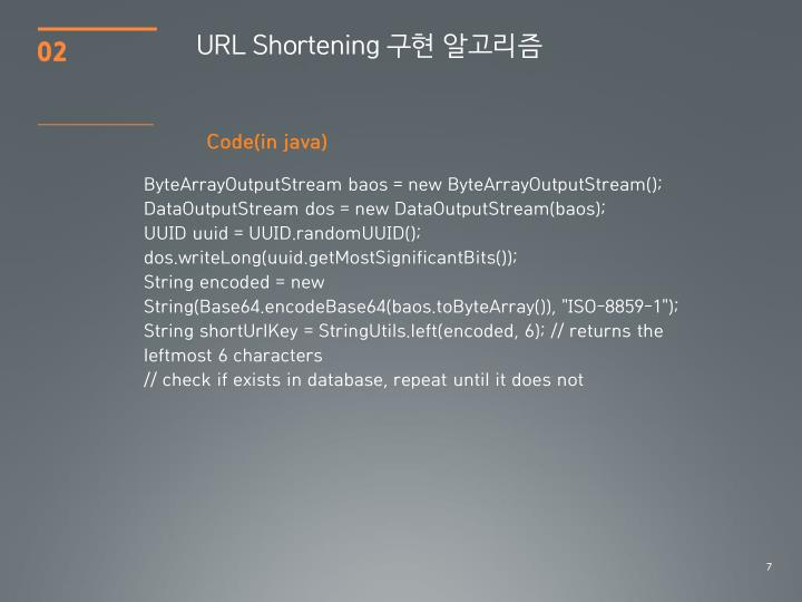 URL Shortening