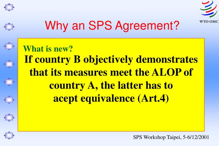 If country B objectively demonstrates that its measures meet the ALOP of country A, the latter has to