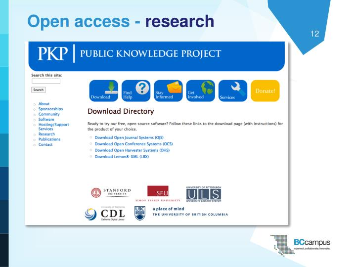 Open access -