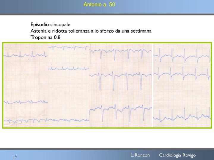 Antonio a. 50