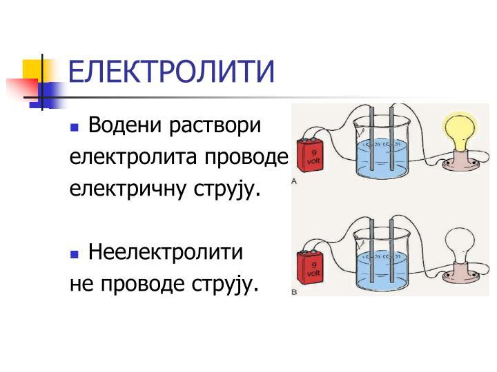 ЕЛЕКТРОЛИТИ