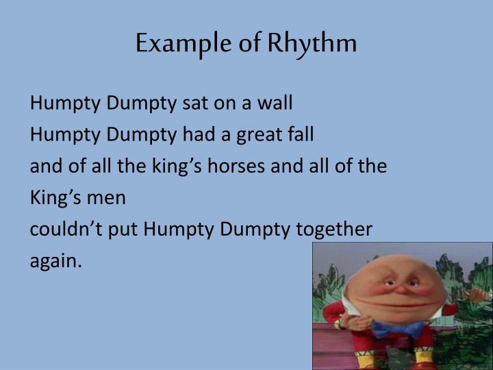 Example of Rhythm