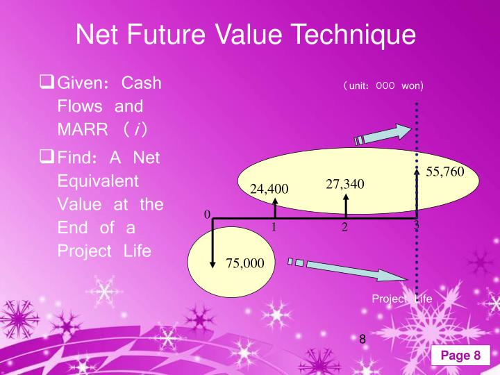 Net Future Value Technique