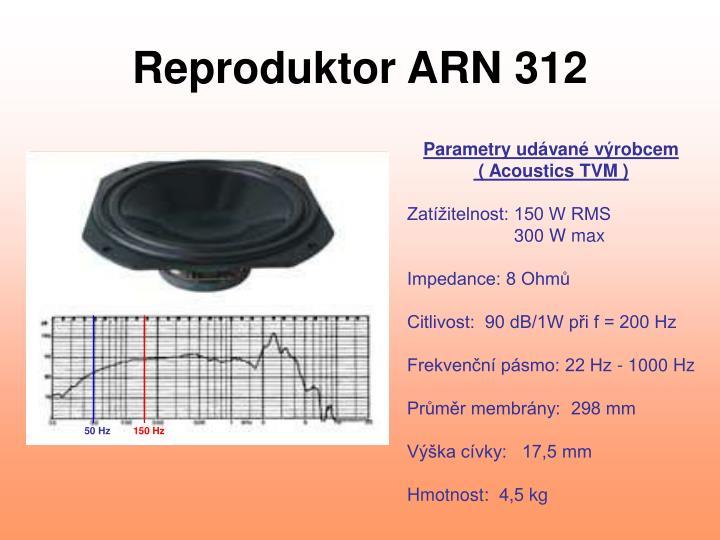 Reproduktor ARN 312