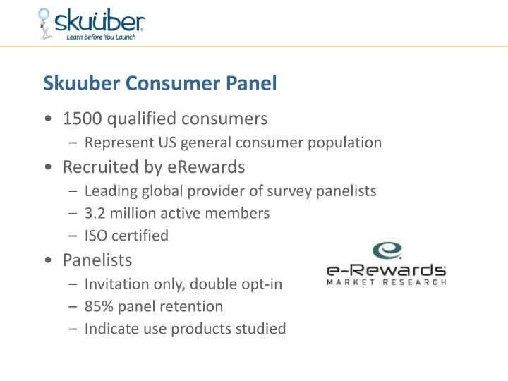 Skuuber Consumer Panel
