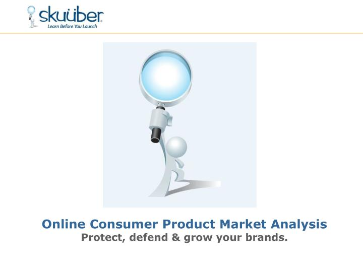 Online Consumer Product Market Analysis