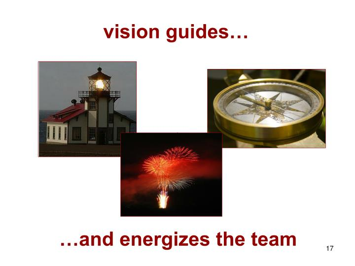 vision guides…
