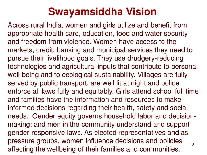 Swayamsiddha Vision