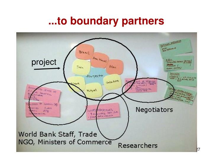 ...to boundary partners