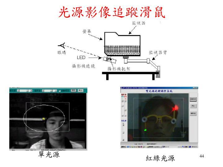 光源影像追蹤滑鼠