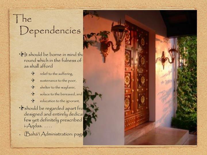 The Dependencies