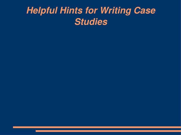 helpful hints for writing an essay