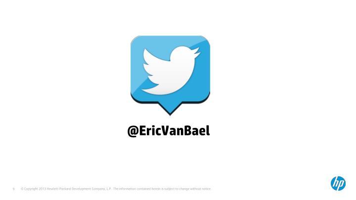 @EricVanBael