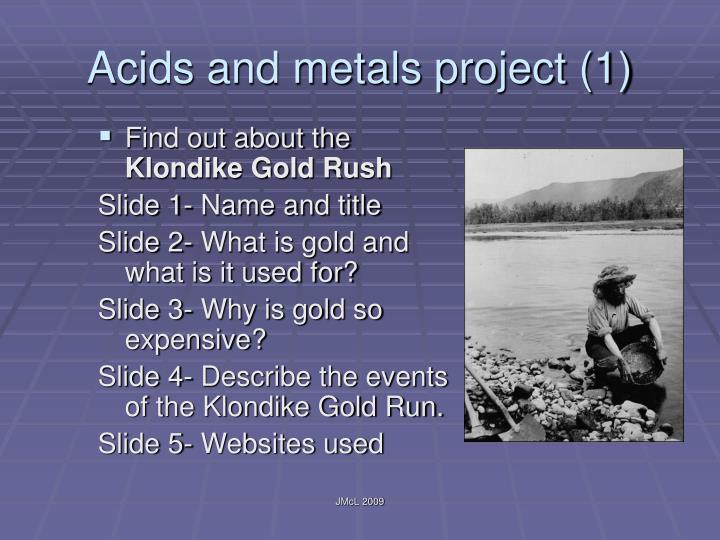 Acids and metals project (1)