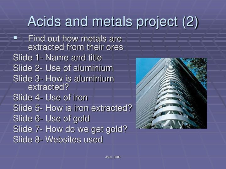 Acids and metals project (2)