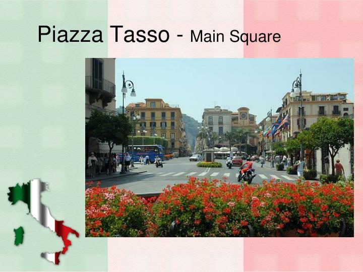 Piazza Tasso -