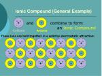 ionic compound general example