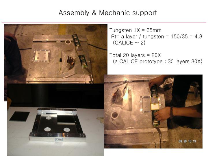 Assembly & Mechanic support
