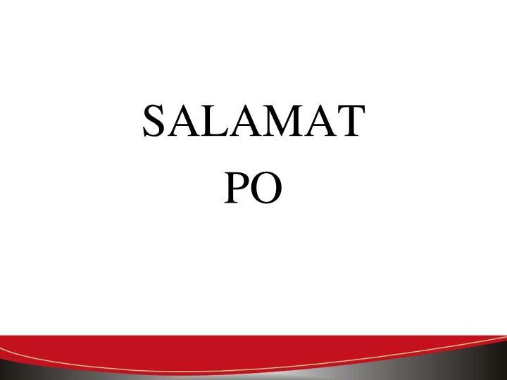 SALAMAT