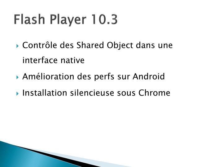 Flash Player 10.3