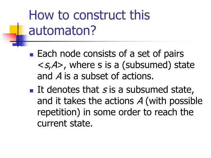 How to construct this automaton?
