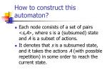 how to construct this automaton