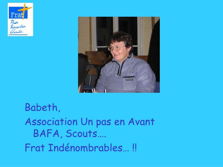 Babeth,
