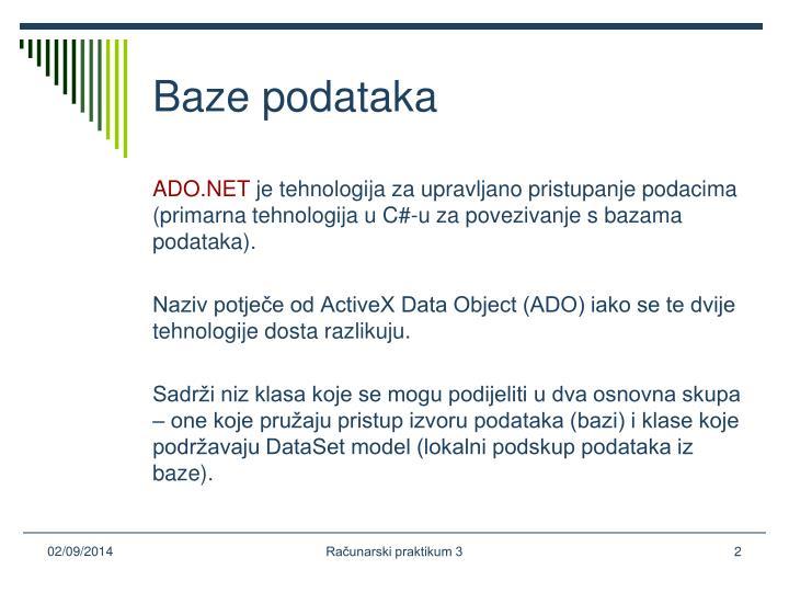 Baze podataka