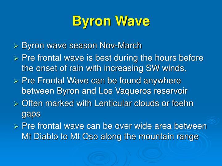 Byron Wave