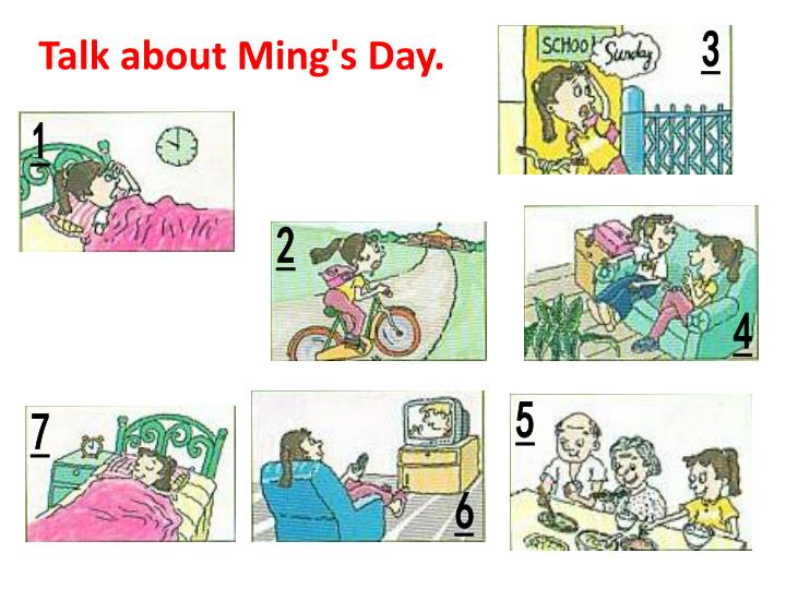 Talk about Ming's Day.