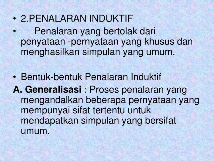 2.PENALARAN INDUKTIF