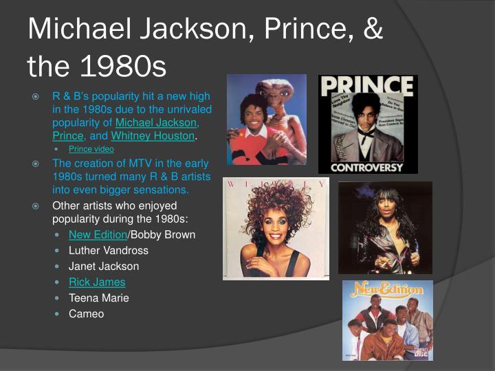 Michael Jackson, Prince, & the 1980s
