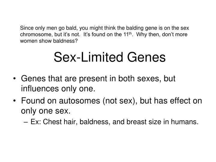 Sex-Limited Genes