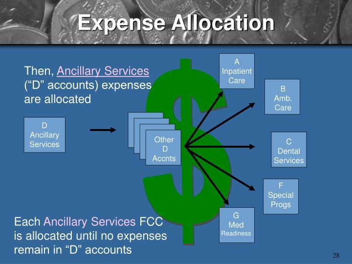 Expense Allocation