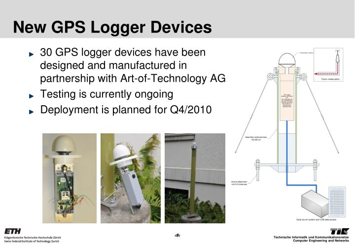 New GPS Logger Devices