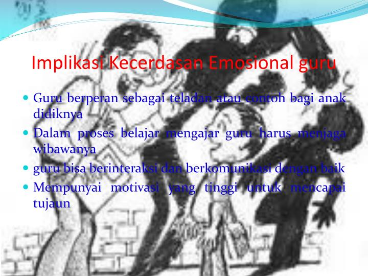 Implikasi Kecerdasan Emosional guru