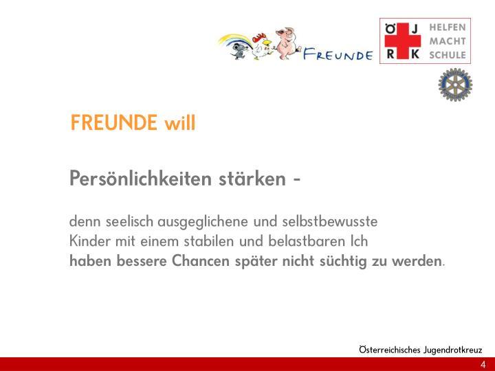 FREUNDE will