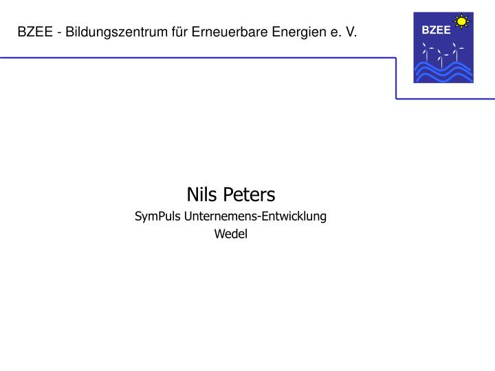 Nils Peters